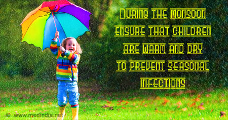 Health Tip on Prevention of Infections During Monsoons