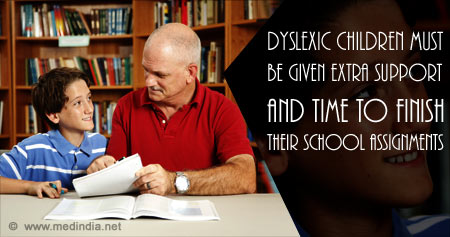 Health Tip on Care for Dyslexic Children