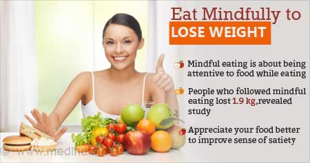 Health Tip on Mindful Eating to Boost Weight Loss