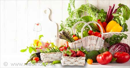 Eating Less Fruits and Vegetables May Up Risk of Death from Heart Disease, Stroke