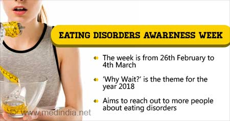 Health Tip on Eating Disorders Awareness Week