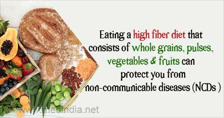 Fiber-rich Diet Can Reduce Non-Communicable Disease Risk