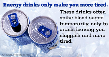Useful Health Tip on Energy Drinks
