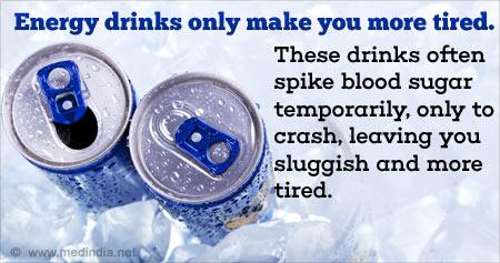 Useful Health Tip on Energy Drinks