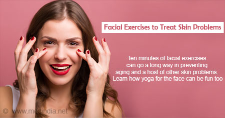 Health Tip on Facial Exercises to Treat Skin Problems
