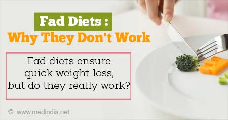Health Tip on Why Fad Diets Do Not Work