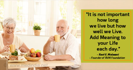 Quote on Living Longer