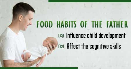 Fathers Beware! Your Food Habits Could Influence Brain Activity of Fetus
