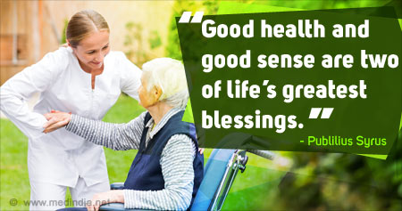 Health Tip on Blessings of Good Health