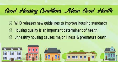 New WHO Guidelines on Housing for Better Health