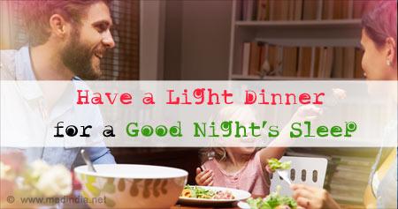Health Tip for a Good Night's Sleep