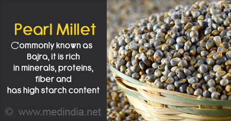 Health Tip on Benefits of Pearl Millet