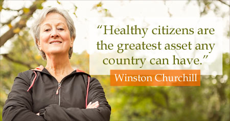 Health Quote on Being Health Citizens