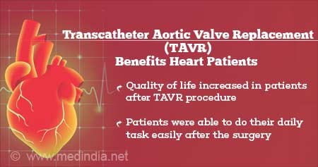 Health Tip on Transcatheter Aortic Valve Replacement (TAVR) Benefits Heart Patients