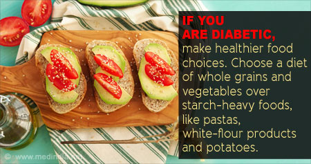 Health Tip on Food Choices for Diabetics