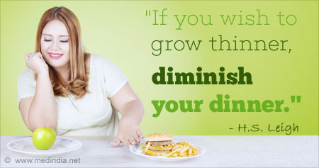 Quote on How to Become Thinner