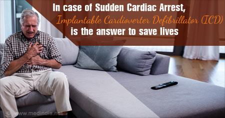 Health Tip on the Benefits of Using Implantable Cardioverter Defibrillator (ICD)