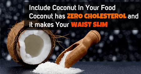 Amazing Health Tip on Benefits of Coconut in Weight Loss Management