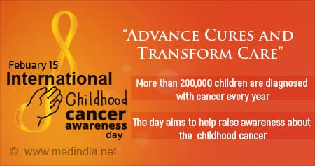 Health Tip on International Childhood Cancer Day