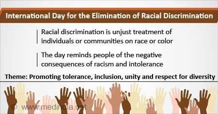 Health Tip on International Day for the Elimination of Racial Discrimination