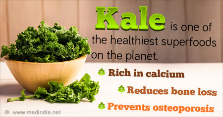 Amazing Health Benefits of Kale on Bone Loss and Osteoporosis