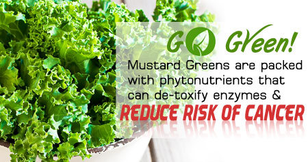 Health Tip on the Benefits of Mustard Greens