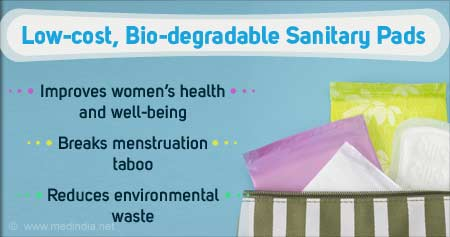 Health Tip on Low-cost Bio-degradable Sanitary Pads