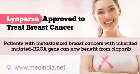 Health Tip on FDA Approval of Olaparib for Certain Breast Cancers