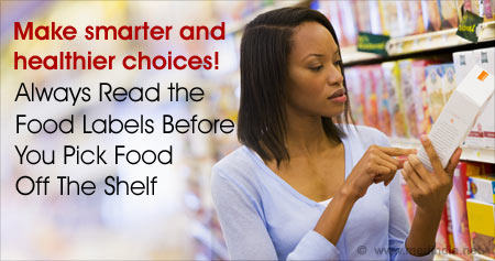 Interesting Health Tip on Making Healthier Food Choices