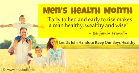 Health Tip on Men's Health Month