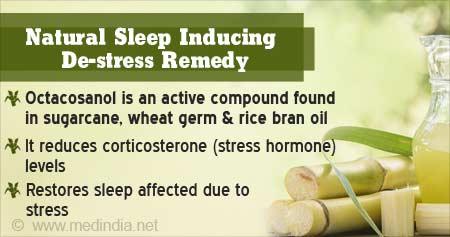 Natural Compound In Sugarcane Restores Sleep, Relieves Stress