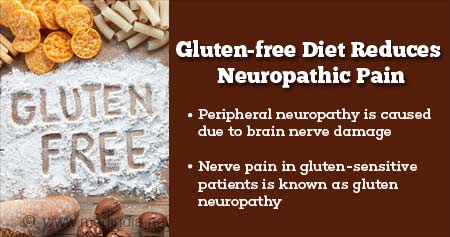 gluten-free diet may help people with neuropathic pain