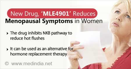 Health Tip on New Drug to Reduce Menopausal Symptoms in Women