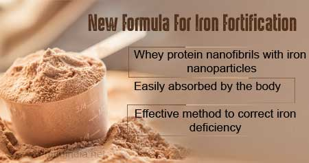 Health Tip on New Formula for Iron Fortification