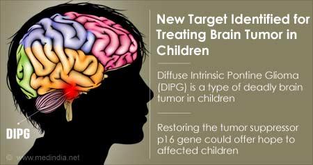 New Target for Brain Tumor in Children