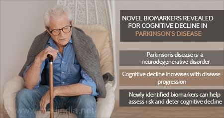 Health Tip on Novel Biomarkers Revealed for Cognitive Decline in Parkinson's Disease