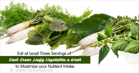 Health Tip on the Essential Nutrients of Dark Green Leafy Greens