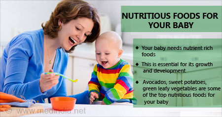 Health Tip on Nutritious Foods For Your Baby
