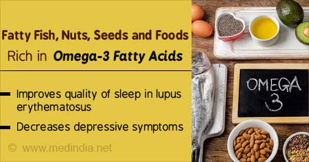 Health Tip on Omega-3 Rich Diet Reduces Severity in Lupus Erythematosus