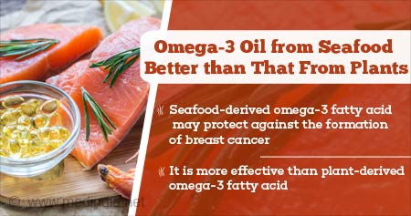 Health Tip on Omega-3 Oil from Seafood Better Than From Plants