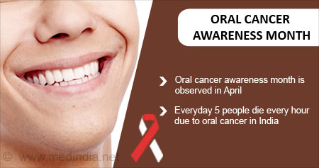 Health Tip on World Oral Cancer Awareness Month
