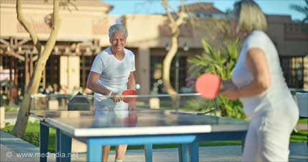Ping Pong can Benefit People with Parkinson's