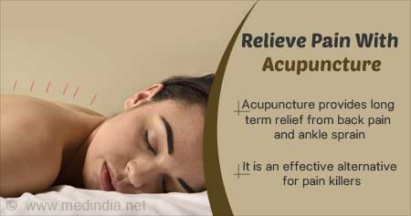 Health Tip on Acupuncture for Pain Relief