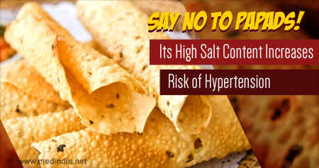 Health Tip to Reduce Hypertension