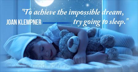 Quote on Sleep