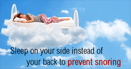 Useful Health Tip on Ways to Prevent Snoring