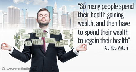 Quote on Gaining Health