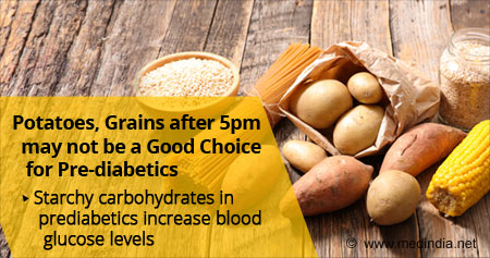 Health Tip on Effects of Starchy Carbohydrates in Prediabetics