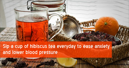 Health Tip to Ease Anxiety and Lower Blood Pressure