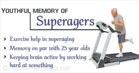 Health Tip on Memory of Superagers